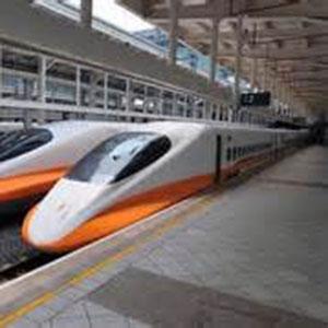 高鐵列車往返