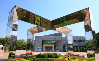 信實公司於107年3月1日起承接國立科學工藝博物館107年度館內外清潔維護暨庭園養護工作案