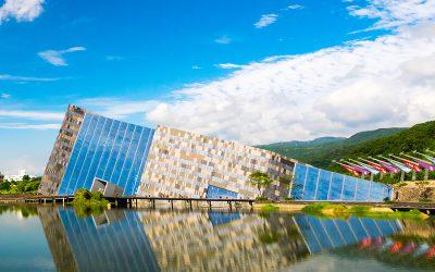 信實公司於108年4月1日起承接108年度宜蘭縣立蘭陽博物館與園區周邊環境清潔維護及植栽草木案