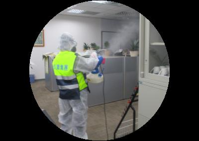 環境消毒(病媒防治)